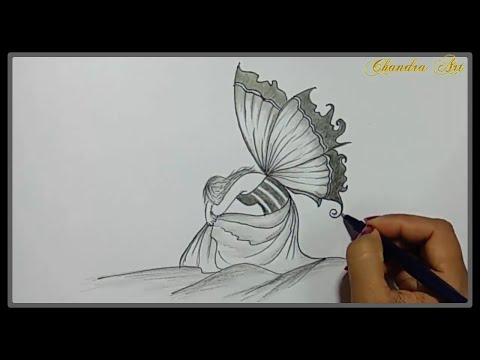 cool-easy-drawings---pencil-drawing-a-beautiful-sad-picture-➤easy