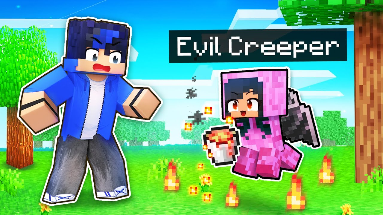 Playing As EVIL Mobs In Minecraft!