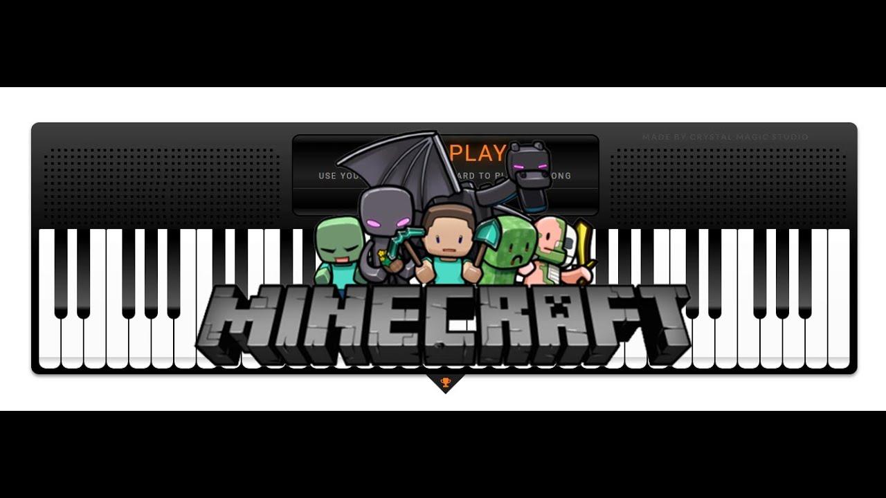 Minecraft Danny Virtual Piano Sheets Youtube