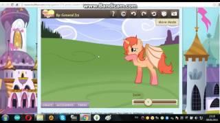 Как сделать две пони на одном фоне( пони креатор 3)