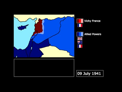 [WWII] The Allied Invasion of Syria and Lebanon (1941): Every Day