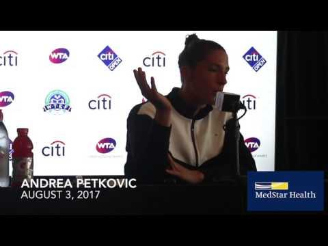 Andrea Petkovic - August 3, 2017