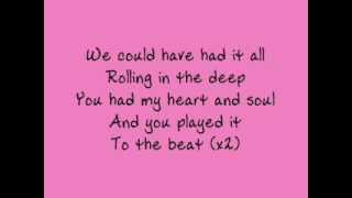 adele rolling in the deep lyrics
