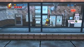 Lego City Undercover 100% Guide - Apollo Island (overworld Area) - All Collectibles