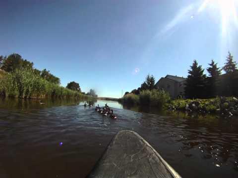 Ontario Travel, Owen Sound Travel-Kayaking River in Owen Sound