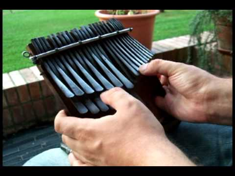 BOB MARLEY IS THIS LOVE ON MBIRA by Alessandro Corsi - www.lavague.it