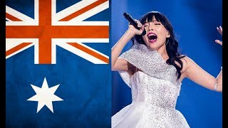 My TOP 4 entries from Australia in Eurovision (2015-2018)