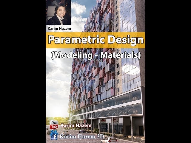 Parametric Design 3Dmax (Random Face Extrude script and Multi