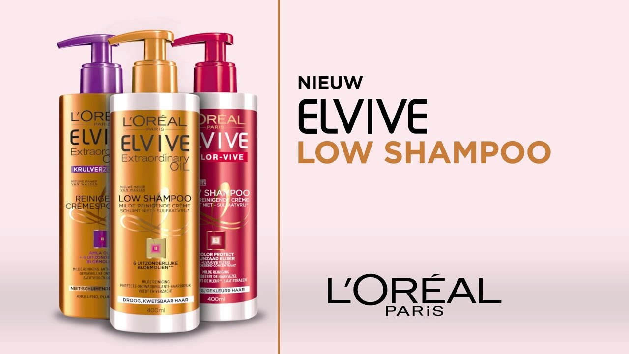 Elvive Low Shampoo Youtube