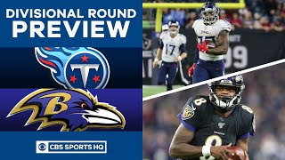Tennessee Titans vs. Baltimore Ravens | NFL Playoffs: Division Round Preview | CBS Sports HQ