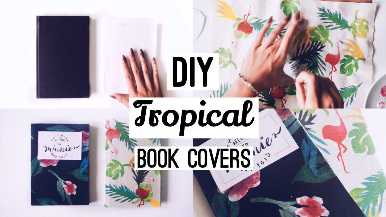 Fabric Book Cover Template : Diy fabric book covers · with free stencil templates