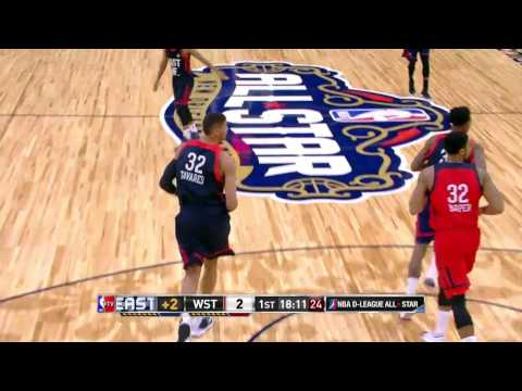 Edy Tavares Posts 12 Points & 11 Rebounds at NBA D-League All-Star Game
