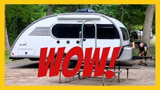 WOW! Interstate State Park Wisconsin ♥ St Croix River RV Camping (GORGEOUS)