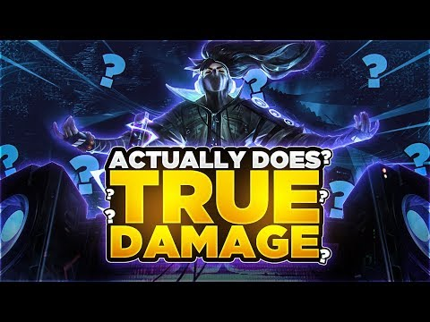 Yassuo | TRUE DAMAGE YASUO ACTUALLY DOES TRUE DAMAGE?