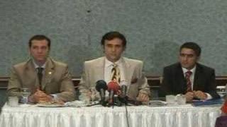BAV BAŞKANI TARKAN YAVAŞ'IN BASIN TOPLANTISI 19/4/2007 (2)
