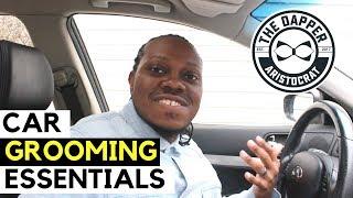 Grooming Essentials Men Need in Their Car