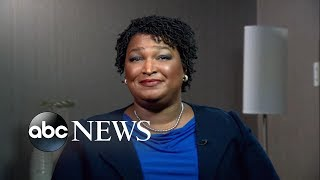 Stacey Abrams responds to hacking claims, Trump's attacks