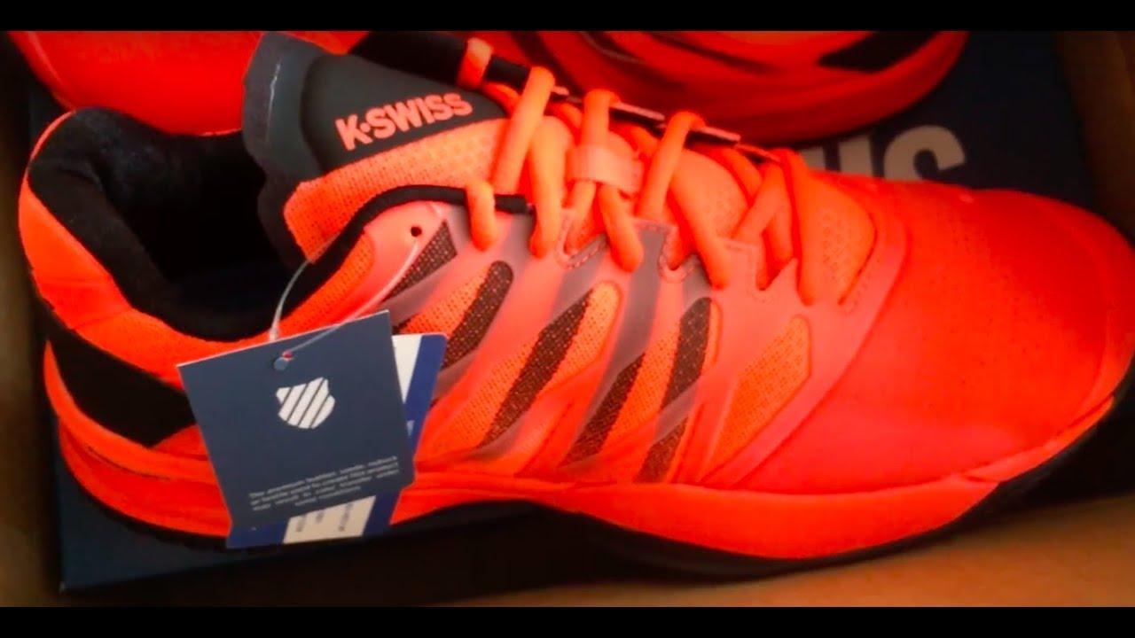 K Swiss Ultra Shot Tennis Shoe Review