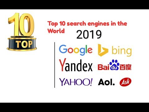 List of Top 10 Most Popular Search Engines In the World (Updated 2019)