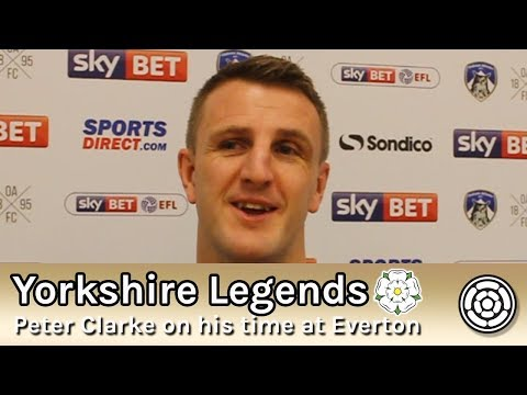 Yorkshire Legends Interview | Peter Clarke on his time at Everton