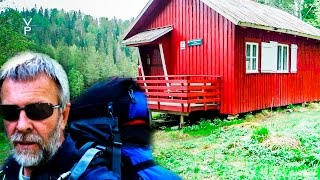 ALL ALONE IN THE CABIN! ADVENTURE TRAVEL IN NORWAY.