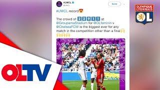 OL ACCESS : Une affluence record pour les filles | Olympique Lyonnais