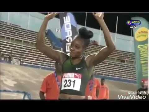 Women's 100m Final - Jamaica National Senior Champs 2018 thumbnail