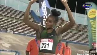 Women's 100m Final - Jamaica National Senior Champs 2018