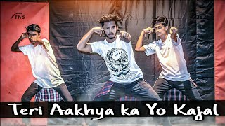 Teri Aakhya Ka Yo Kajal ||Cover Dance Video || Dance Choreography By Subendu Saha||