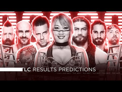WWE TLC 2017 - Results Predictions