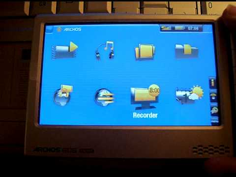 Archos 605 WiFi 4 Go Treiber Windows XP