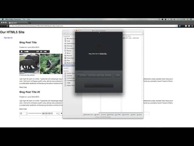 HTML5 Tutorials #16 - How To Play Audio With HTML5
