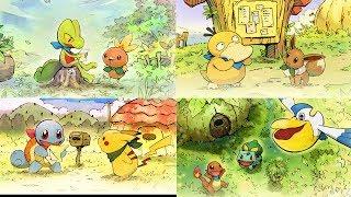 Adventure Awaits in Pokémon Mystery Dungeon: Rescue Team DX!