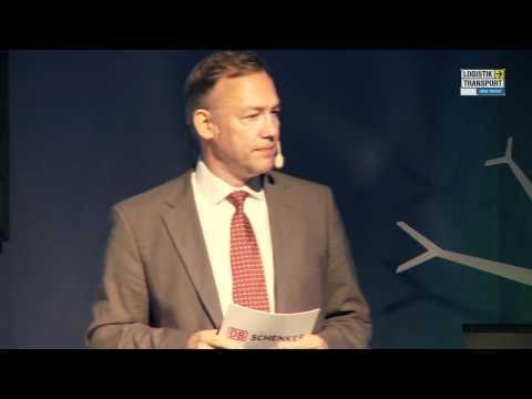 Dr Detlef Trefzger. Tisdag 22 maj på Logistik & Transport 2012