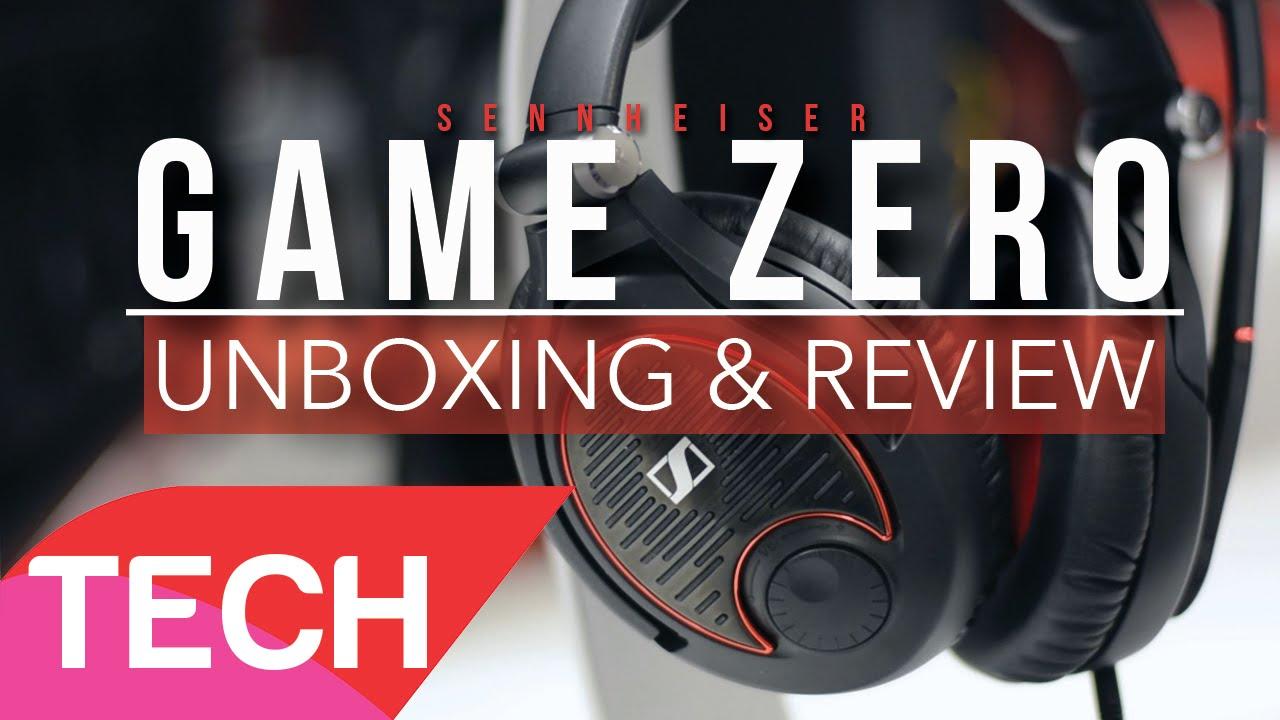 Sennheiser   Game Zero Unboxing & Review