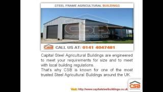 Steel Frame Agricultural Buildings | Capital Steel Buildings