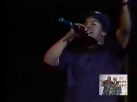 N.W.A. - Dopeman (Live In Houston 1989) (VIDEO)
