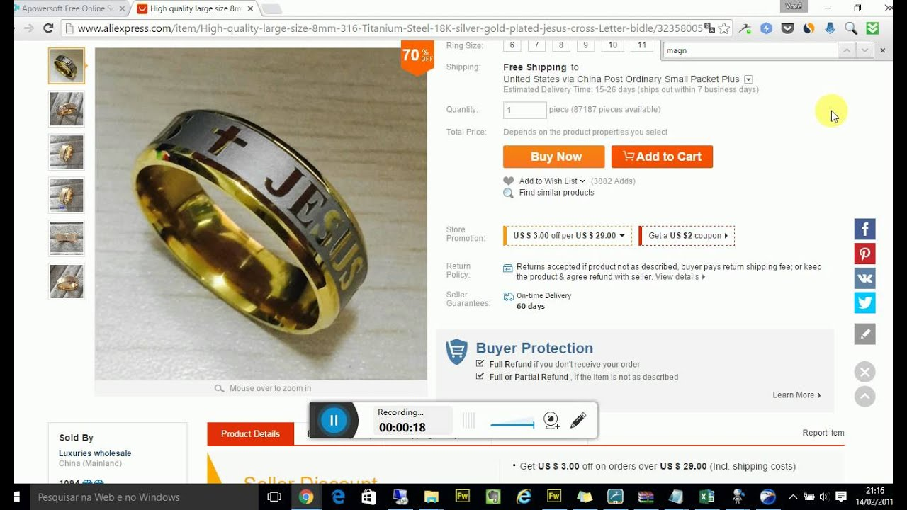 How to download aliexpress protected image fast and easy