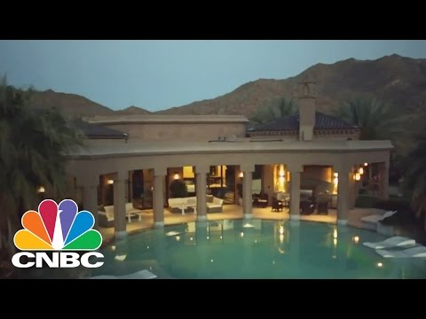 Stay Cool Like The 'Super Rich' In This Hot Desert Mansion | CNBC