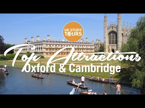 Top Attractions Oxford & Cambridge