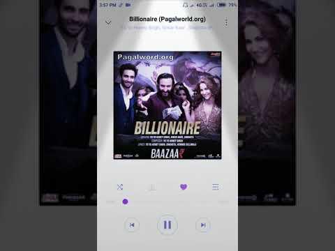 Billionaire | Full Audio Song | YoYo Honey Singh | Simar Kaur | Singhsta | Baazaar | Saifali Khan