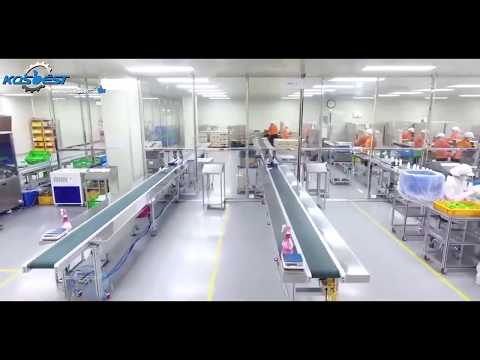 Cosmetics Production Line Design