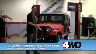 4WD restores a vintage Jeep For 4 Wheel Parts