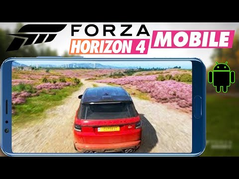 Forza Horizon 4 Android Gameplay + Download Apk Obb 2018