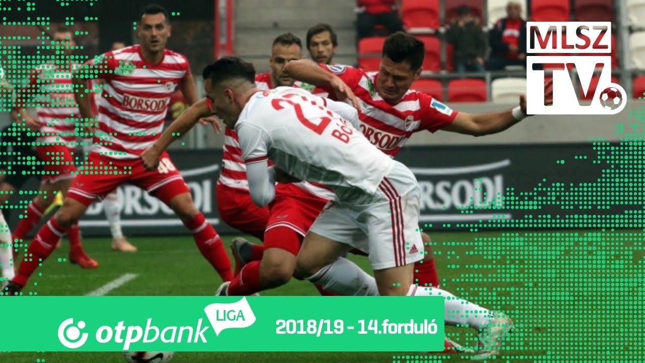 DVTK - DVSC | 1-0 (1-0) | OTP Bank Liga | 14. forduló | 2018/2019