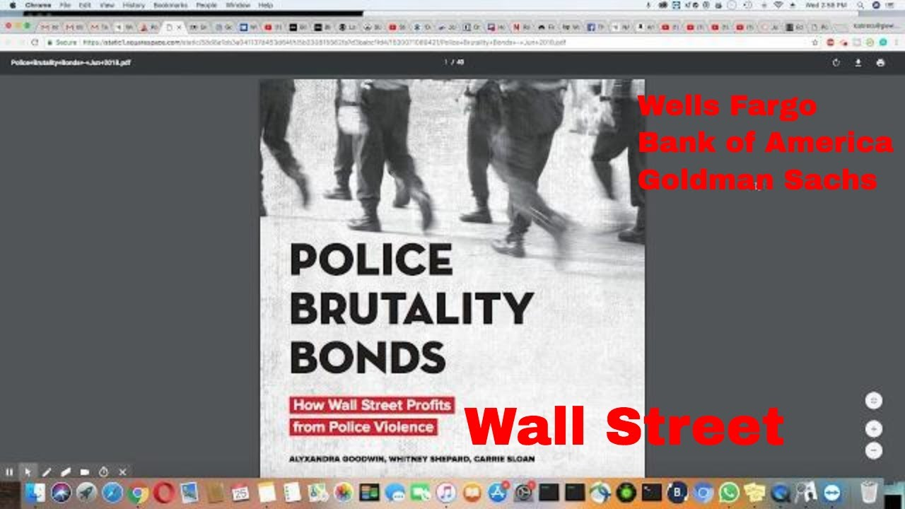 Police Brutality Bonds On Wall Street