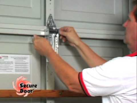 Installation Vertical Bracing System Garage Door