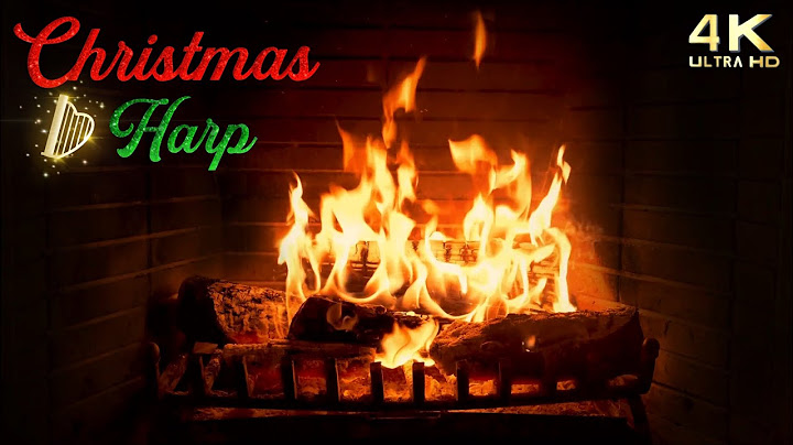 Permanent Link to 4K Christmas Fireplace with Music & Crackling – Traditional Christmas Harp – Cozy Christmas Ambience