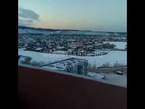 nouvel ordre mondial |  UFO in Yakutsk, Russia - October 31, 2017