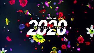2020 Creative Trends | Shutterstock